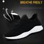 Mens-Memory-Foam-Casual-Walking-Running-Gym-Sport-Slip-On-Trainers-Shoes-Size-UK miniatura 9