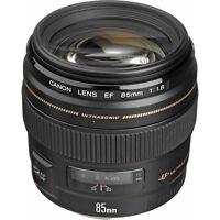 Canon Ef 85mm F/1.8 Usm Lens For Digital Slr Dslr Camera Bodies -