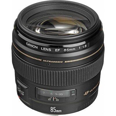 Canon EF 85mm f/1.8 USM Lens for Digital SLR Camera Bodies