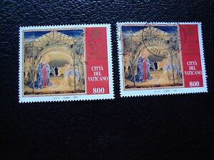 Vatican-Stamp-Yvert-and-Tellier-N-1089-x2-Obl-A28-Stamp