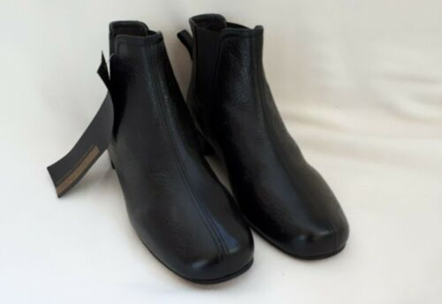 Boots Schwarz 35 Mihara Chie Gr Ankle Echtleder Stiefelette aXt0nTg