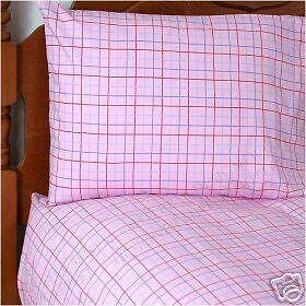New NAUTICA Pink DANBURY X-LongTwin Sheet Set