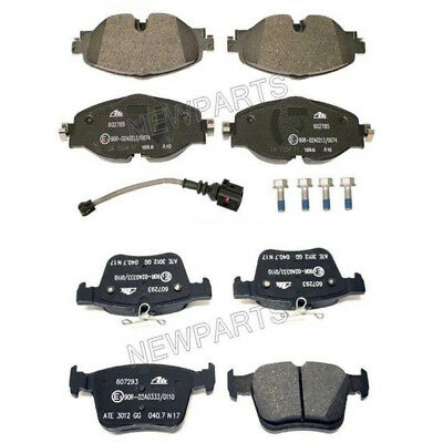 For Audi A3 e-tron Quattro 15-16 Pair Set Of Front /& Rear Brake Pad Set Genuine