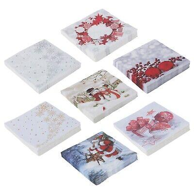 20 pcs Ukrainian embroidery themed design paper serviettes 3-ply napkins decor