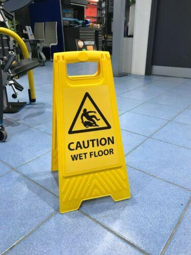 La prudence Wet Floor signe de nettoyage de signer un cadre Nettoyeur SIGNE SHS4010