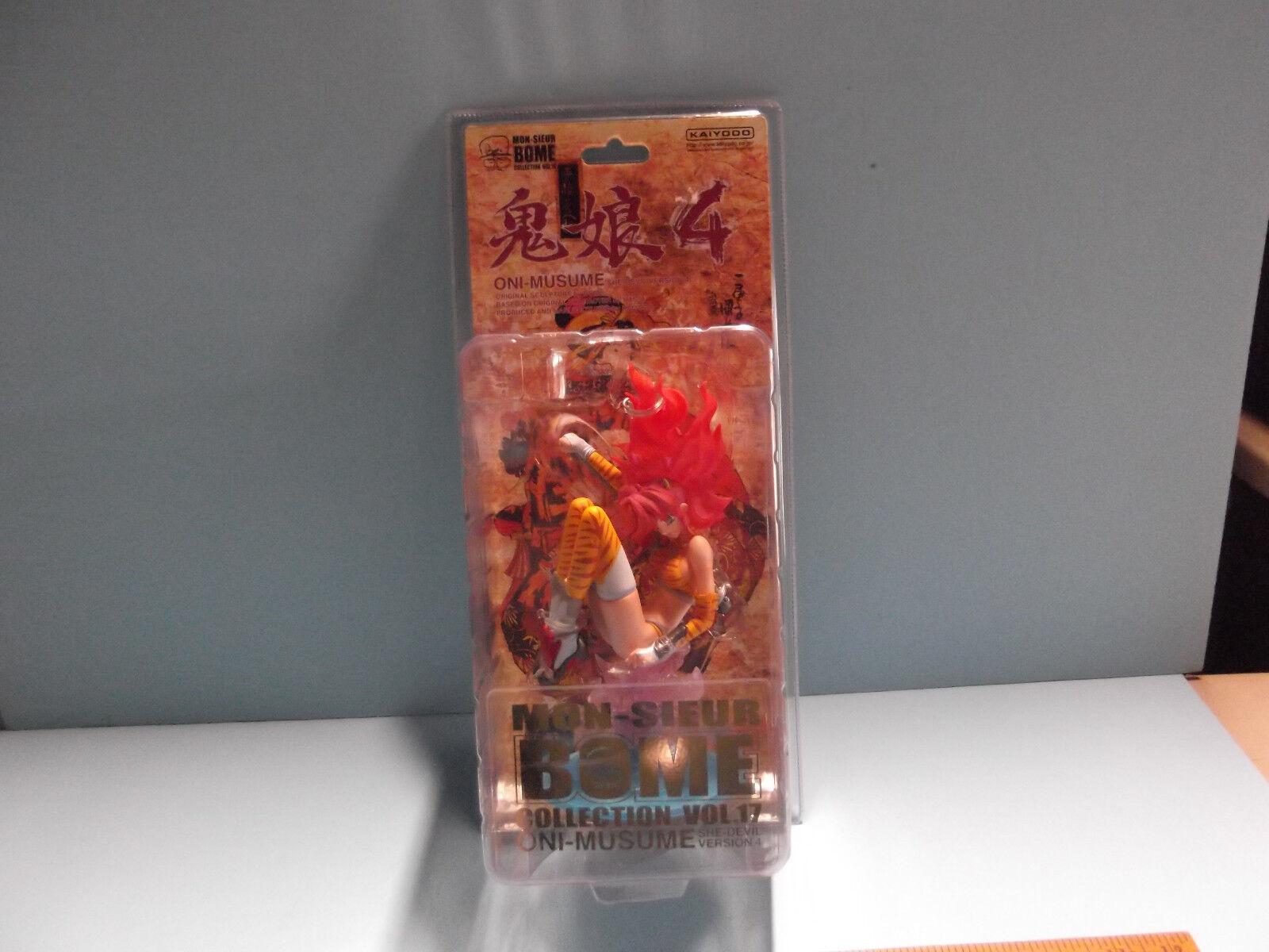 Mon-Sieur BOME Collection VOL.17 ONI-MUSUME 8 in SHE DEVIL Version 4 Kaiyodo