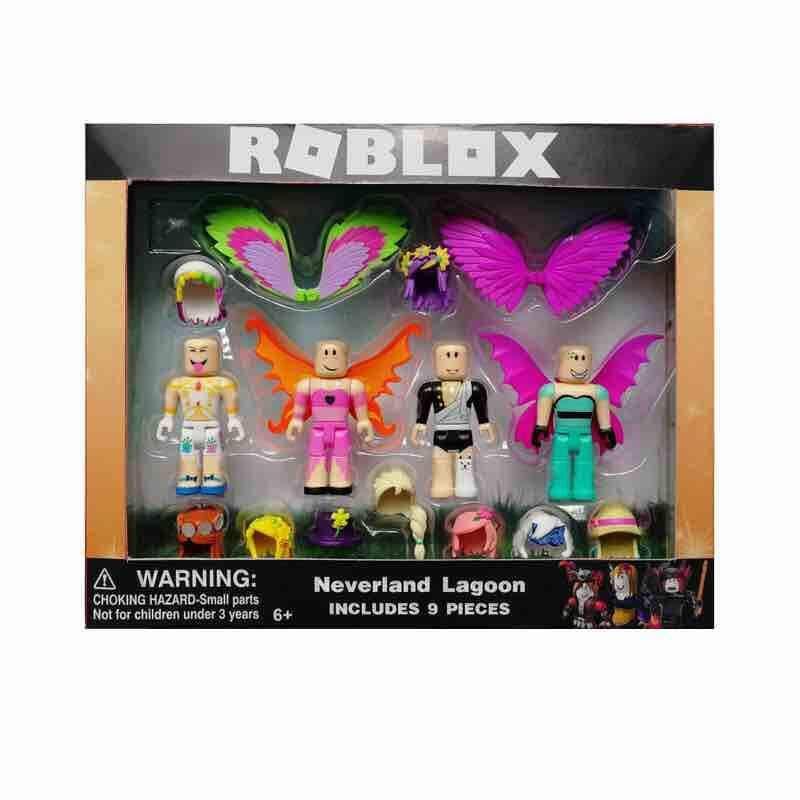 UK Roblox Robot Riot Mix & Match Set PVC Game Toy 6 Piece Includes Box Kids Gift 5