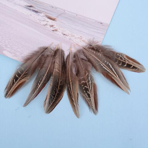 50 teile satz fasanenfedern 5-10 cm hühnerfedern für karneval diy handwerTPI