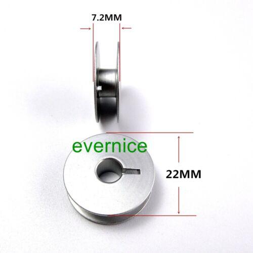 25 Stück W Box Aluminium Spulen für Bernina117 121 217 217N 217N-C 317 517 540