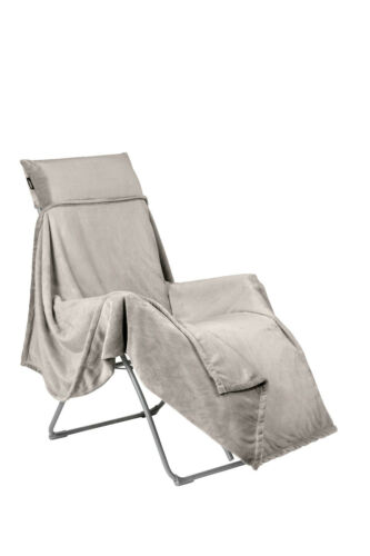 Lafuma Kuscheldecke Flocon beige lfm 2937 9282 Decke Relax Stuhl Camping Garten