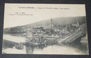 Carte Alsace Thann.Details Sur Cpa Carte Postale Guerre 14 18 1915 Alsace Thann Pont Detruit