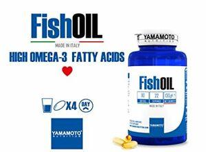 Yamamoto Nutrition Fish OIL integratore di acidi grassi essenziali Omega-3 90 Pz