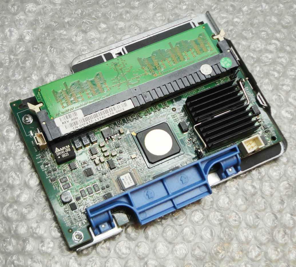 Dell yf437 0yf437 POWEREDGE PERC 5/HO SAS RAID Controller Card with Tray