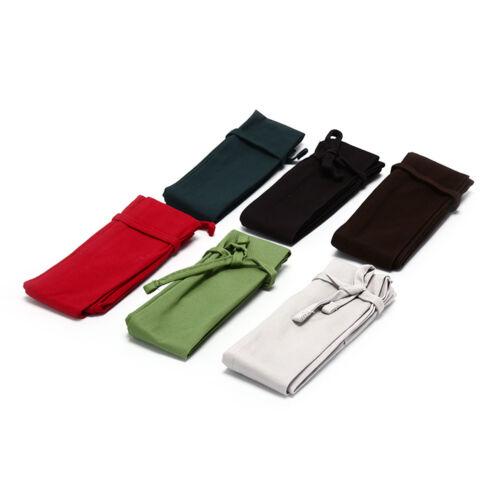 Cotton Fishing Rod Sleeve Cover Pole Protector Bag Gear Tackle Color Random J7P0