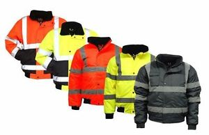 Mens Hi Vis Visibility Viz Bomber Jacket  Waterproof  Work Wear  2 Tone - <span itemprop=availableAtOrFrom>Smethwick, United Kingdom</span> - Returns accepted Most purchases from business sellers are protected by the Consumer Contract Regulations 2013 which give you the right to cancel the purchase within 14 days after the da - Smethwick, United Kingdom