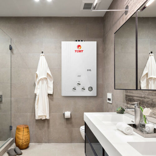18L Propane Gas 4.8Gal Hot Water Heater Tankless Fashionable with Shower Head US