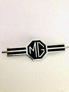 MG Chrome and Black Dash Badge, for  MGA MGB MIDGET MG part AHH5258