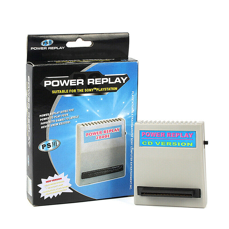 For Playstation1 PS1 PS Power Replay Action Card Game Cheat Cartri JDYHUK