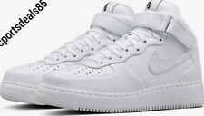 6df09bd83acea item 3 Nike Nikelab Air Force 1 Mid (White) UK Size 12 EU 47.5 US 13 819677  100 -Nike Nikelab Air Force 1 Mid (White) UK Size 12 EU 47.5 US 13 819677  100