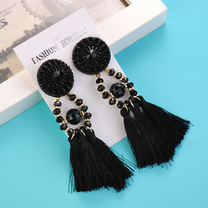 Charm-Beads-Long-Tassel-Dangle-Earrings-for-Women-Thread-Fringe-Drop-Earrings