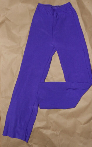 NWT MATTE SPANDEX DANCE JAZZ PANTS CHILD//ADULT BOOTCUT Purple Wolff Fording