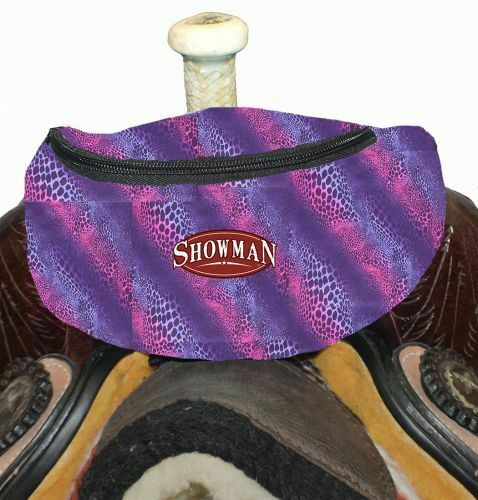 Western Horse Saddle Sack Lined Pouch Bag Attaches to the Saddle Many Colors !