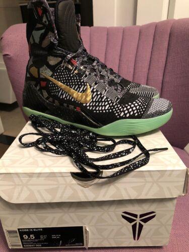 002 630847 Ix Blk 9 5 Nike Kobe 9 All Uomini Sz Nola Gumbo Maestro star Elite Asg J1FKcTl