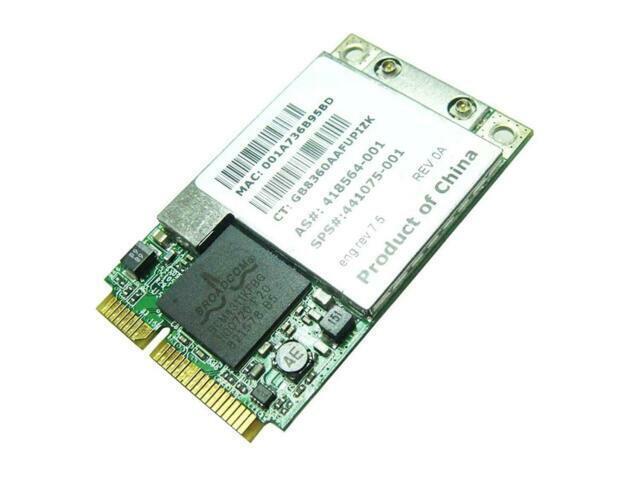 HP 802.11 ABG Wireless Mini PCIe Card 441075-001 BCM94311MCAGBP1