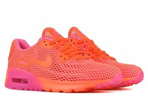 buy popular 24634 e1f06 Details about Nike Women's Air Max 90 Ultra BR Crimson/Pink Blast  725061-800 Sz 5 - 8.5