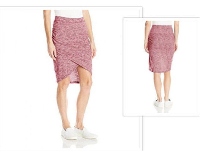 Details about NWT SOYBU Women's Tulip Skirt Wren Syrah Size L Retail $49 99