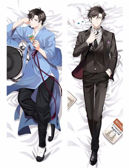 Anime Mystic Messenger Yoosung Dakimakura Pillow Case Hug Body Cover 150*50cm#10