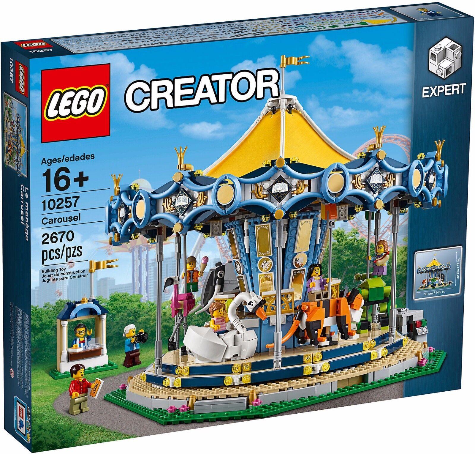Lego Creator Coleccionistas 10257 Cocherusel Cocherusel Nuevo New