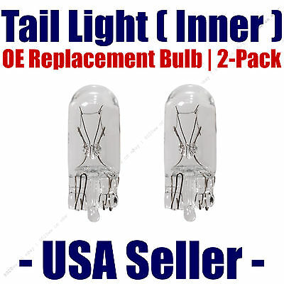 168 OE Replacement Fits Listed Lexus /& Lincoln Vehicles Tail Light Bulb 2pk