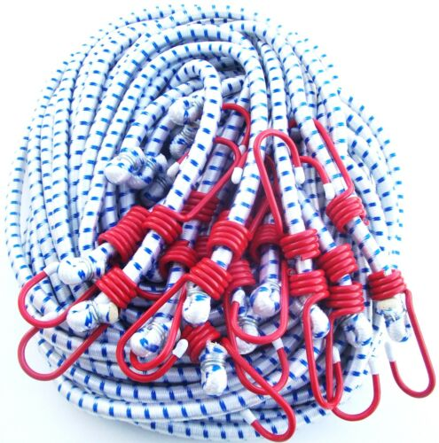 """12 ATE PROFESSIONAL 72/"""" HEAVY DUTY BUNGEE CORDS TIE DOWN STRAPS 1//2/"""" THICK"""