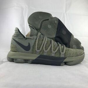 quality design 95614 89dff Image is loading Nike-Zoom-KD-10-LMTD-Veterans-Day-Dark-
