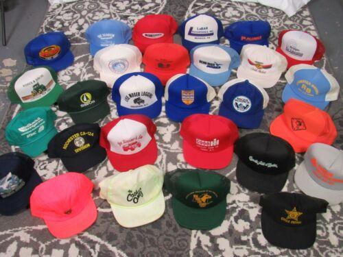 Lot of 28~ Vintage Snapback Mesh Foam Trucker Hats