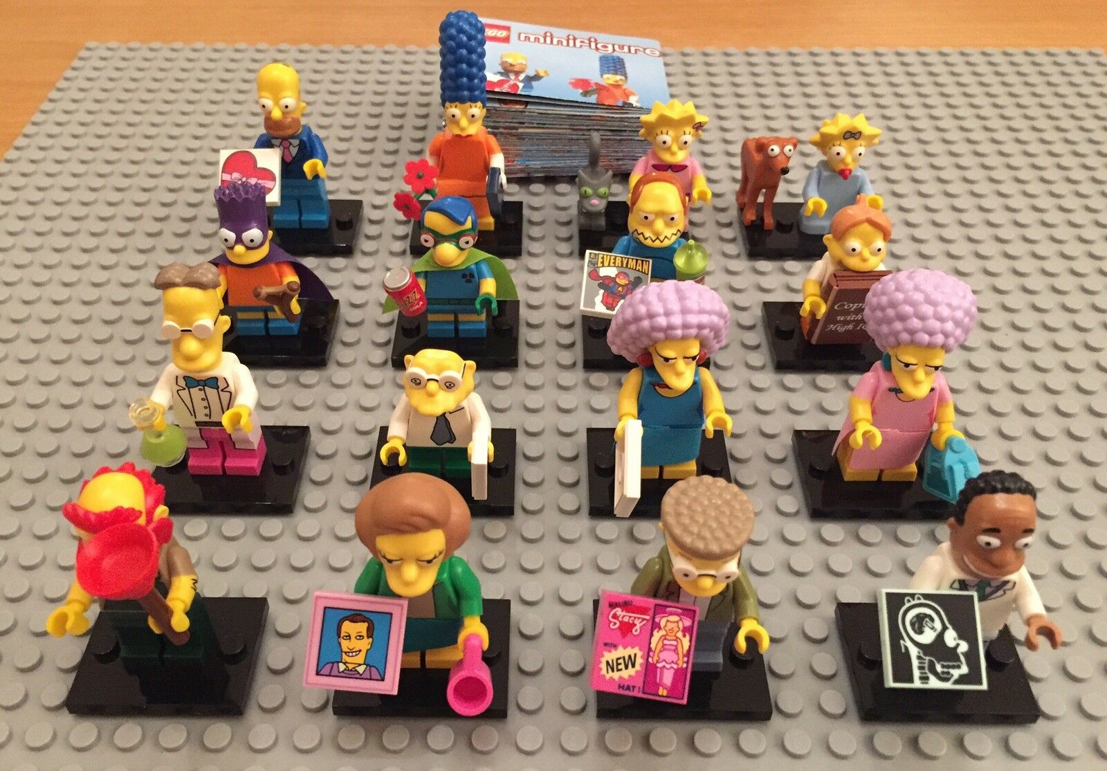 LEGO The Simpsons Series 2 Minifigures 71009 Complete Set. Brand New. Boxed