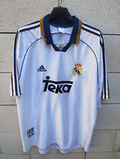 VINTAGE Maillot REAL MADRID ADIDAS FIGO COPA EUROPA 2000 Coupe Europe camiseta