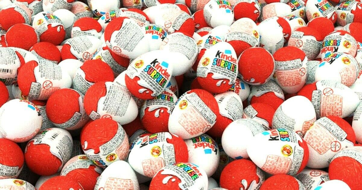 Kinder Surprise - Brand new box of 48 Kinder Chocolate Eggs and toys