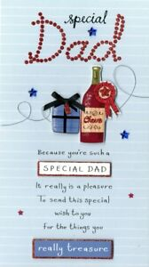 Image Is Loading Special Dad Birthday Greeting Card Second Nature Poem