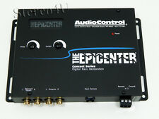 AudioControl The Epicenter Gray Car Audio Bass restoration Digital Equalizer