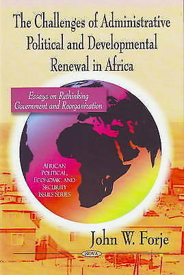 Challenges of Administrative Political and Developmental Renewal in Africa: Essa