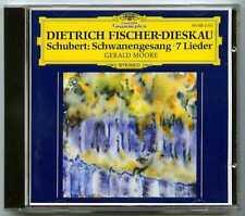 CD Dietrich FISCHER-DIESKAU : Schubert Lieder.. / DGG West Germany / full silver