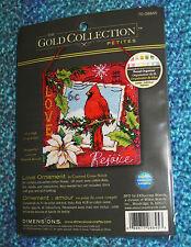 Dimensions Cardinal Love Ornament counted cross stitch KIT 70-08845 NIOP Petites
