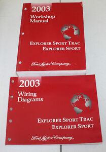 2003 Ford Explorer Sport Trac, Explorer Sport Manual & Wiring Diagram | eBay | Wiring Diagram For 2003 Ford Explorer |  | eBay