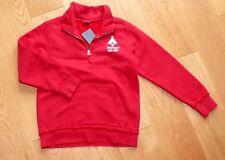 ESPRIT Kinder Sweatshirt Shirt Jacke Sweat Sweatjacke Pullover rot 116 122 NEU!