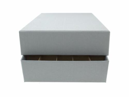 Guardhouse Coin Tube Storage Box Heavy Duty Small Dollar//Gray
