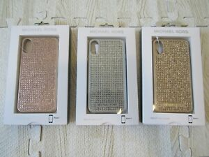 MICHAEL-KORS-IPHONE-X-HARD-STUDDED-CASE-NWT