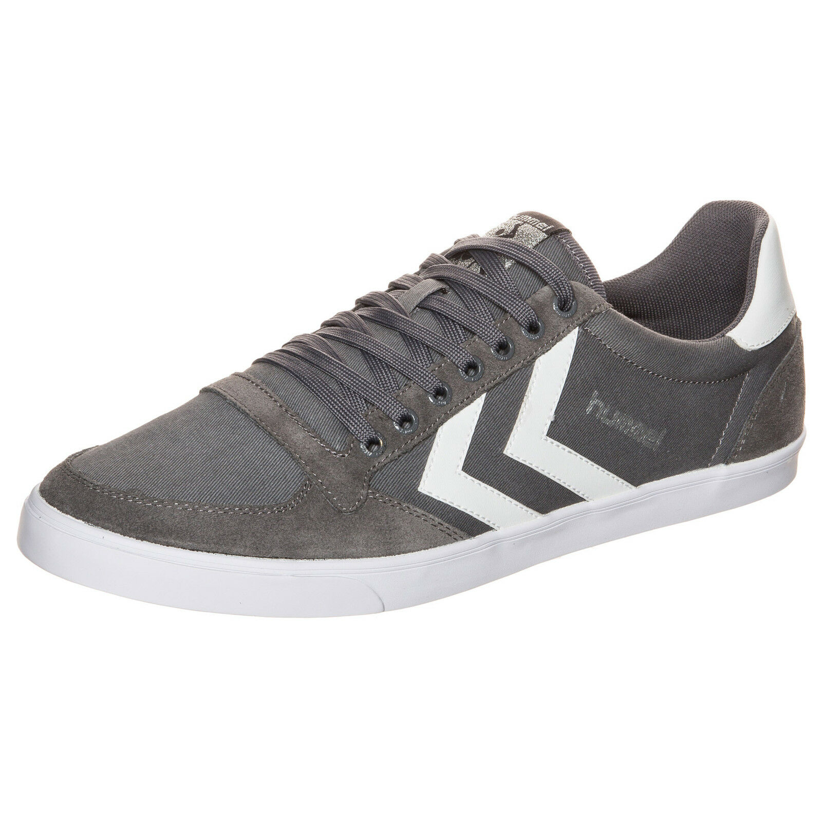 Hummel Slimmer Stadil Low Sneaker Grau NEU Schuhe Turnschuhe