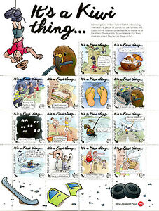 New-Zealand-NZ-2016-MNH-Its-a-Kiwi-Thing-14v-M-S-Stamps-Colouring-Bk-Pencils